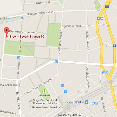 Map alabus Brown Boveri Strasse 10